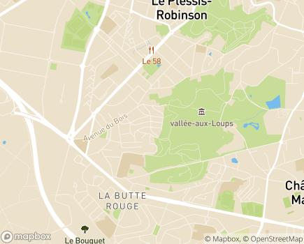 Localisation Centre Denise Croissant - 92290 - Châtenay-Malabry