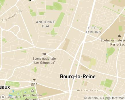 Localisation APEI Sud 92 - Club Sports Loisirs Cluture - 92340 - Bourg-la-Reine