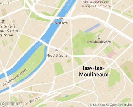 Localisation Fondation La Vie au Grand Air - 92130 - Issy-les-Moulineaux