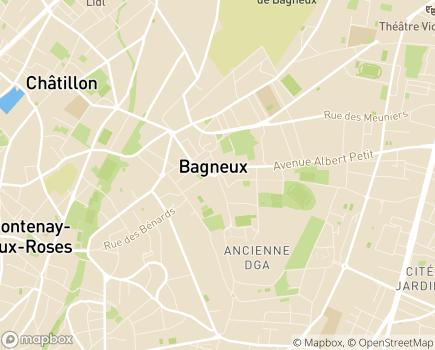 Localisation ESAT Jean Caurant - 92220 - Bagneux