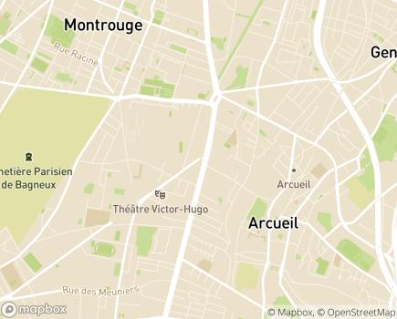 Localisation Service de Suite et d'Accompagnement - 92200 - Bagneux