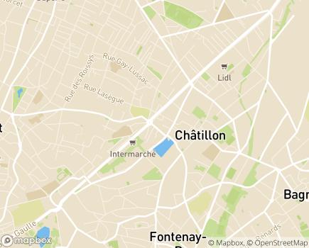 Localisation Domidom Châtillon - 92320 - Châtillon