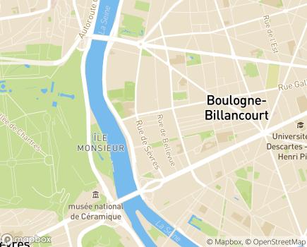 Localisation Cleyade - 92210 - Saint-Cloud