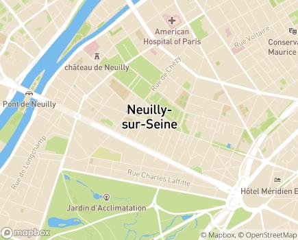 Localisation CLIC Espace Solidarité Seniors - 92200 - Neuilly-sur-Seine
