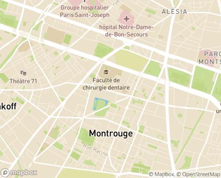Localisation Alliance Vie - 92120 - Montrouge