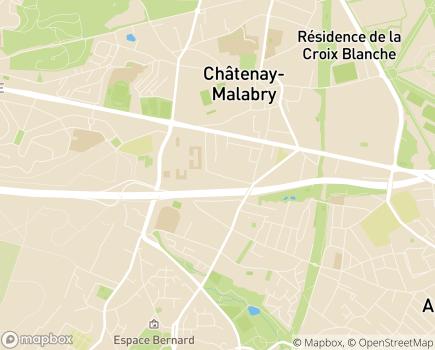 Localisation MAS La Source - 92290 - Châtenay-Malabry