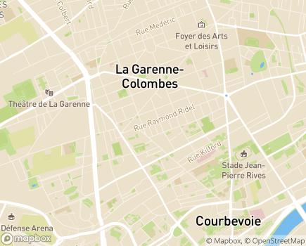 Localisation Foyer de Vie Les Lierres - 92250 - La Garenne-Colombes