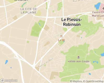 Localisation Maison Relais Le Plessis Robinson - 92350 - Le Plessis-Robinson