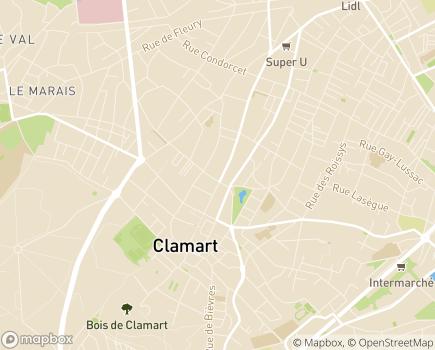 Localisation Maison Relais Clamart Ville et SAVS - 92140 - Clamart