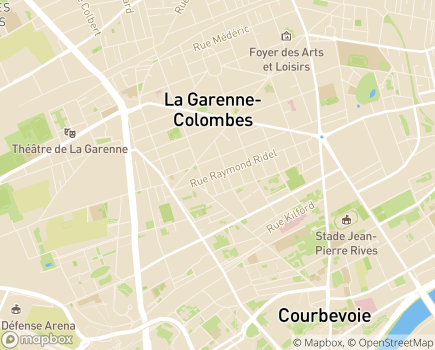 Localisation Résidence Accueil La Garenne-Colombes - 92250 - La Garenne-Colombes