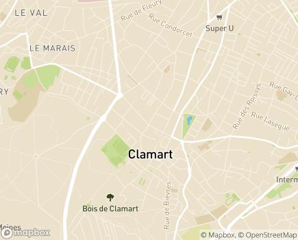 Localisation EHPAD Résidence Alphonse Daudet - 92140 - Clamart