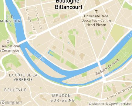 Localisation FAM de Billancourt - 92100 - Boulogne-Billancourt
