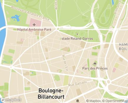 Localisation Bien Vieillir en Ile de France - 92100 - Boulogne-Billancourt