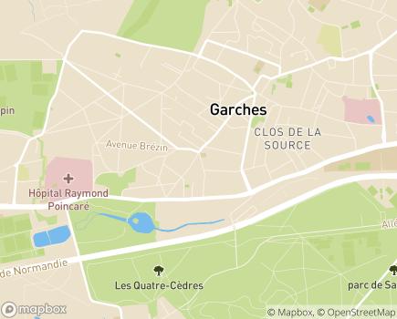 Localisation Les Templitudes - 92380 - Garches