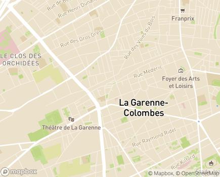 Localisation ONELA Agence de la Garenne-Colombes - 92250 - La Garenne-Colombes