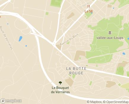 Localisation Domidom Châtenay-Malabry - 92290 - Châtenay-Malabry
