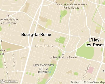 Localisation Résidence Services Carnot - 92340 - Bourg-la-Reine