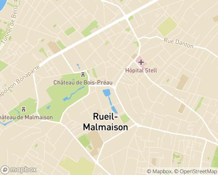 Localisation Domitys Apidea - Résidence avec Services - 92500 - Rueil-Malmaison
