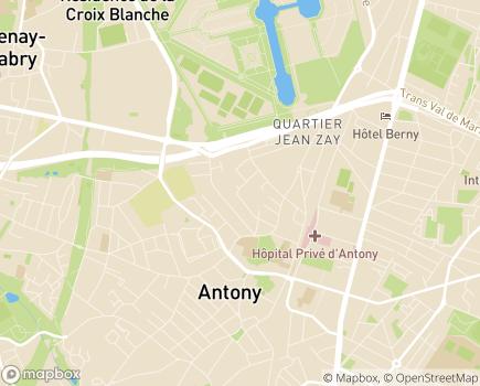 Localisation Résidence Services Seniors La Chartraine - 92160 - Antony