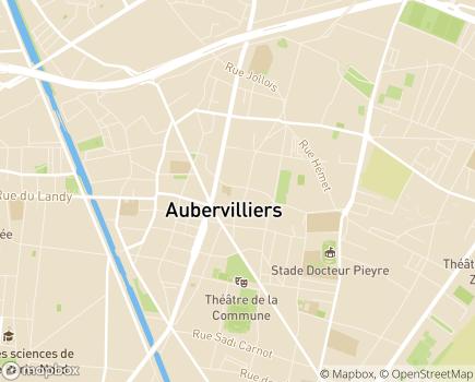 Localisation Centre de Réadaptation Professionnelle (UGECAM - IDF) - 93300 - Aubervilliers