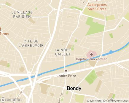 Localisation Adoma Direction territoriale de Seine Saint-Denis - 93140 - Bondy