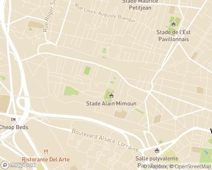 Localisation Korian Bonisiaca - 93140 - Bondy