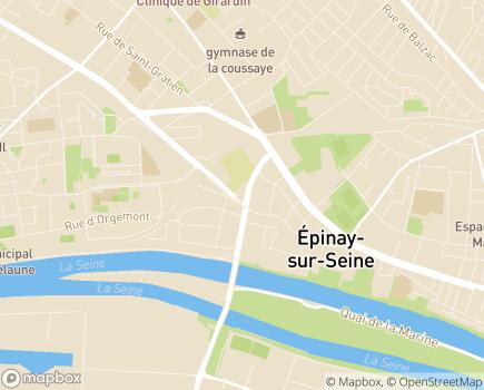 Localisation Aide aux Mères et aux Familles à Domicile - Banlieue Nord et Nord Ouest - 93800 - Épinay-sur-Seine