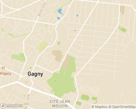 Localisation Foyer d'Hébergement - 93220 - Gagny