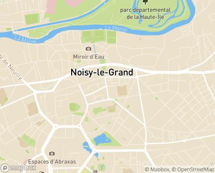 Localisation Korian Villa Victoria - 93160 - Noisy-le-Grand