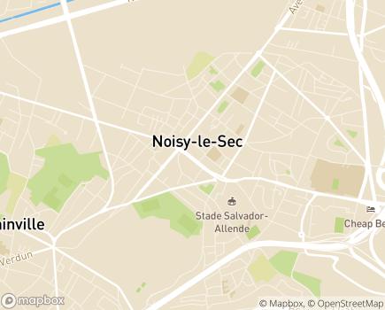 Localisation Centre Communal d'Action Sociale - 93130 - Noisy-le-Sec
