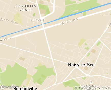 Localisation ESAT Roland Baudin Vivre Autrement - 93000 - Bobigny