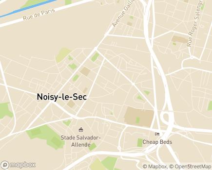 Localisation Foyer de Vie Orhan Ger - 93130 - Noisy-le-Sec
