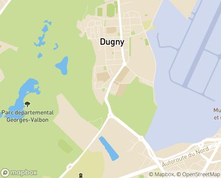 Localisation Centre d'Accueil de Jour de l'AFDAEIM - 93440 - Dugny
