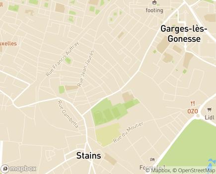 Localisation Section d'Adaptation Spécialisée AFDAEIM - 93240 - Stains