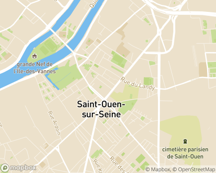 Localisation Pôle Mères-Enfants, Structure de Saint-Ouen Colette Coulon - 93400 - Saint-Ouen