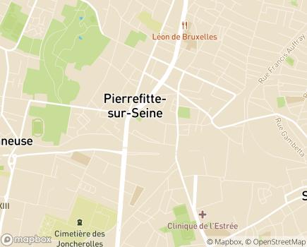 Localisation La Maison de l'Alisier - Foyer d'Accueil Médicalisé - 93380 - Pierrefitte-sur-Seine