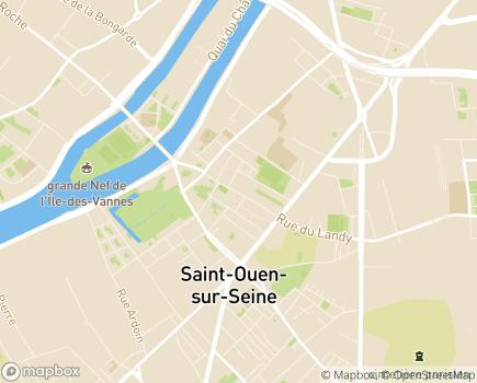 Localisation Clinique du Landy (Ramsay - Générale de Santé) - 93400 - Saint-Ouen-sur-Seine