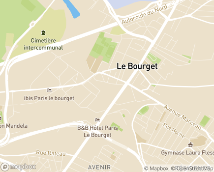 Localisation Clinique du Bourget (Ramsay - Générale de Santé) - 93350 - Le Bourget
