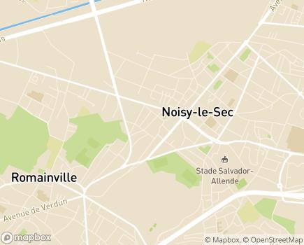 Localisation Relais Noisy-le-Sec - Groupe VYV - 93130 - Noisy-le-Sec