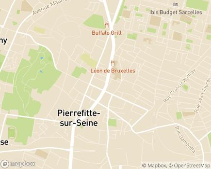 Localisation 93-48483 - 93380 - Pierrefitte-sur-Seine