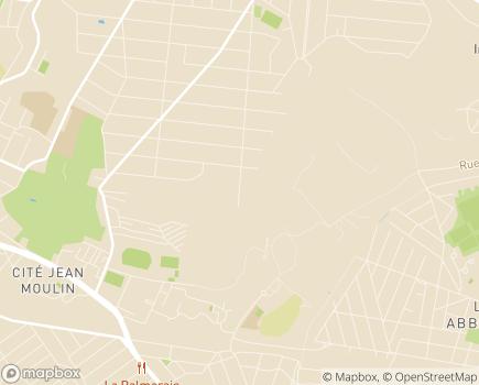 Localisation ESAT Les Ateliers de Montguichet - ARPEI - 93220 - Gagny