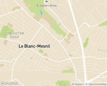 Localisation SSIAD Service de Soins Infirmiers à Domicile - 93150 - Le Blanc-Mesnil