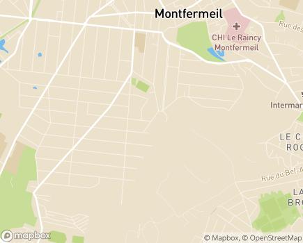 Localisation Armée du Salut MAS Le Grand Saule - 93370 - Montfermeil