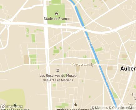 Localisation ANR Services Entreprise Adaptée - 93210 - Saint-Denis
