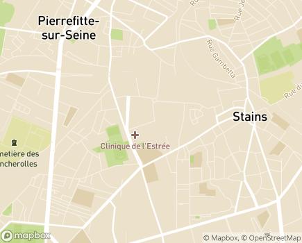 Localisation ESAT Pleyel - La Résidence Sociale - 93240 - Stains