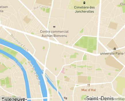 Localisation ESAT Vivre Autrement - 93200 - Saint-Denis