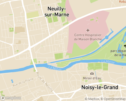 Localisation ESAT Pierre Brossolette Vivre Autrement - 93330 - Neuilly-sur-Marne