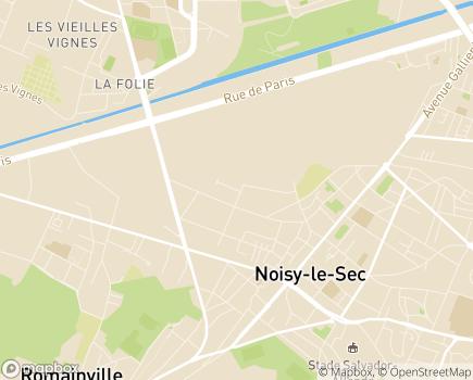 Localisation ESAT APF Noisy-le-Sec - 93130 - Noisy-le-Sec