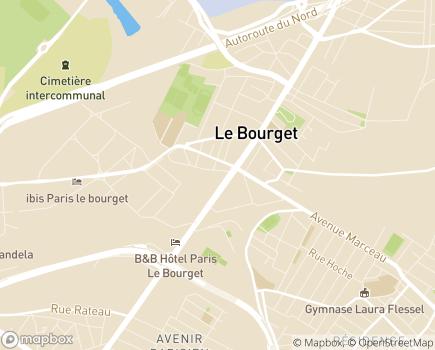 Localisation La Maison des Glycines EHPAD - Adef Résidences - 93350 - Le Bourget