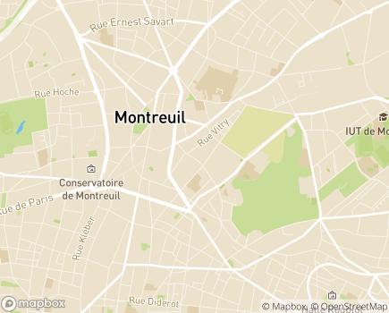 Localisation CLIC - Centre Local d'Information et de Coordination Gérontologique - 93100 - Montreuil
